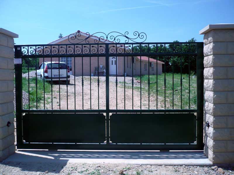 portail roulant